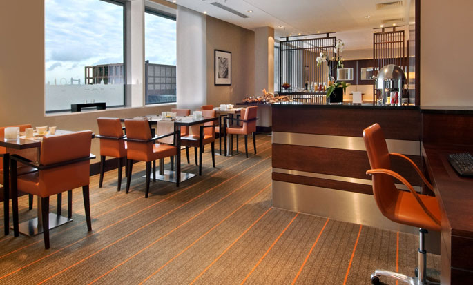 Hilton London Canary Wharf hotel, Verenigd Koninkrijk - Executive lounge