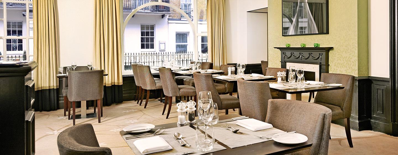 Hotel Hilton London Green Park, Londra, Regno Unito - Tiger Green Brasserie