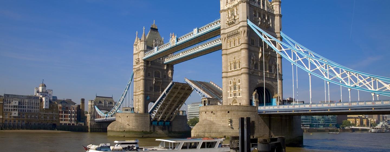 Die Tower Bridge können Sie in wenigen Minuten mit der U-Bahn erreichen
