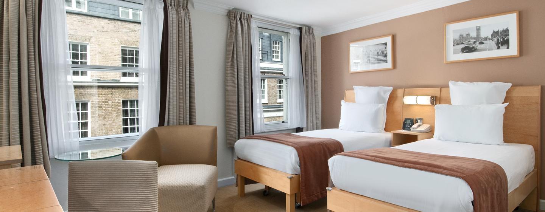 Englischen Charme bietet Ihnen das schöne Zimmer im Hotel