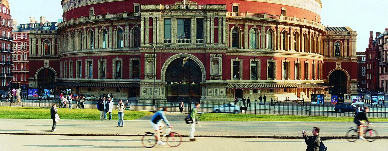 London Hilton on Park Lane, Storbritannien - Royal Albert Hall