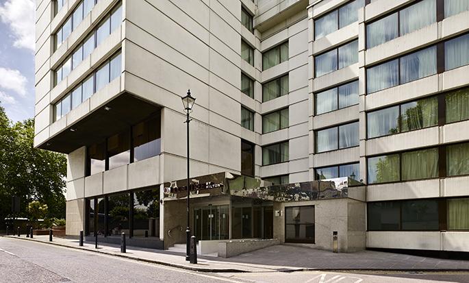 DoubleTree by Hilton Hotel London - Hyde Park Hotel, GB - Buitenkant hotel