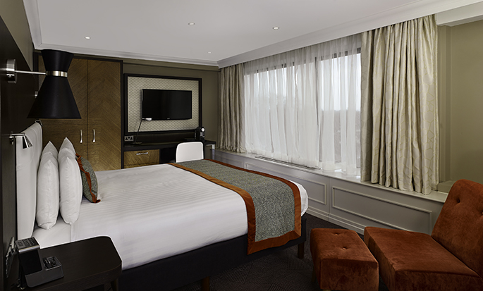 DoubleTree by Hilton Hotel London - Hyde Park Hotel, GB - King Deluxe kamer