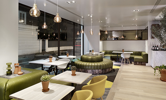 DoubleTree by Hilton Hotel London - Hyde Park Hotel, GB - Urban Meadow restaurant