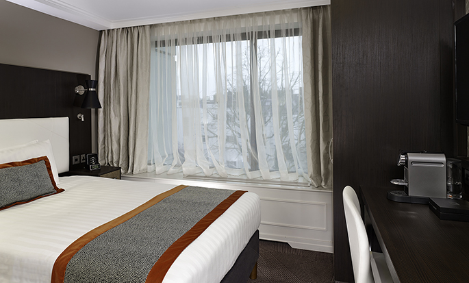Hôtel DoubleTree by Hilton Hyde Park, Londres - Chambre simple