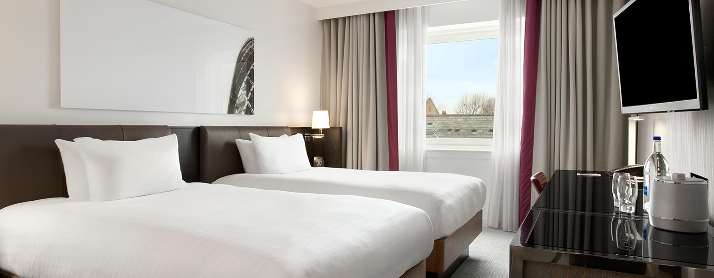 Hotel Hilton London Angel Islington, Regno Unito - Camera Hilton Superior con letti separati
