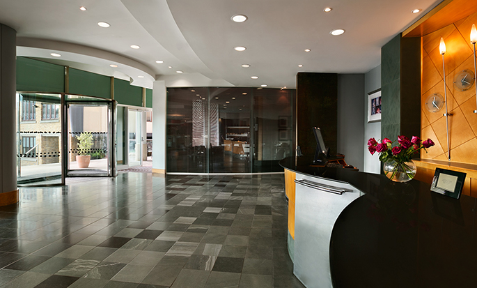 Hotel Hilton London Angel Islington, Regno Unito - Area della lobby
