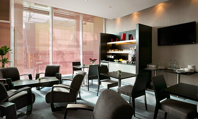 Hotel Hilton London Angel Islington, Regno Unito - Executive Lounge
