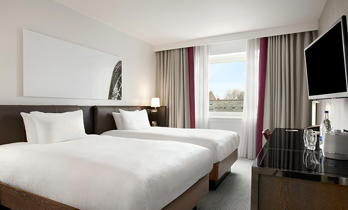 Hotel Hilton London Angel Islington, Regno Unito - Camera con letti separati