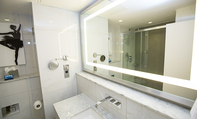 Hotel Hilton London Angel Islington, Regno Unito - Bagno della camera