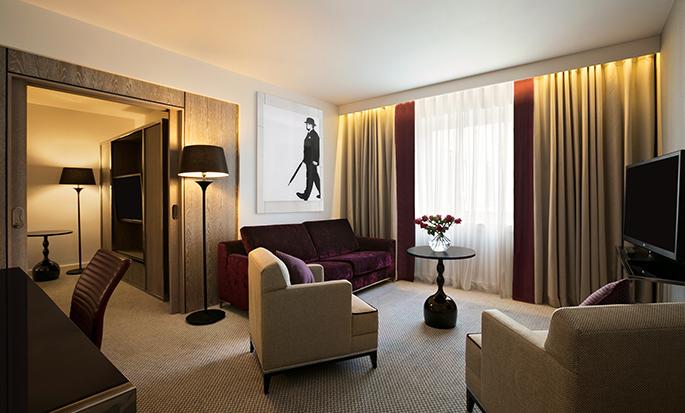 Hotel Hilton London Angel Islington, Regno Unito - Soggiorno della camera Executive