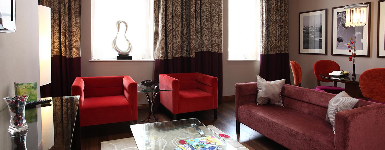 DoubleTree by Hilton London–Marble Arch hotel - Wohnzimmer der Duplex Suite