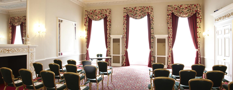 Die Suite mit Theaterbestuhlung wird Ihrem Event gerecht