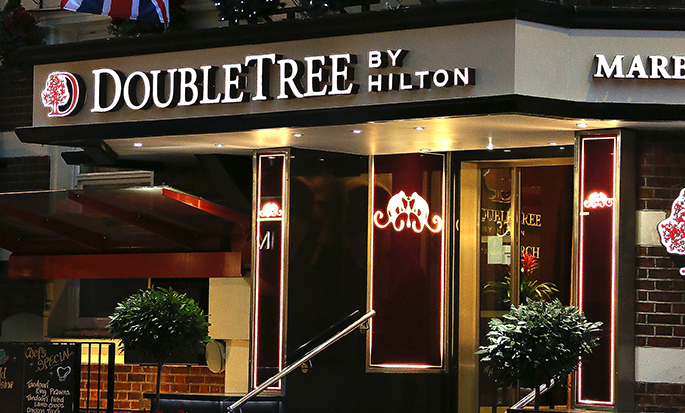 DoubleTree by Hilton Hotel London – Marble Arch, Storbritannien – Fasad