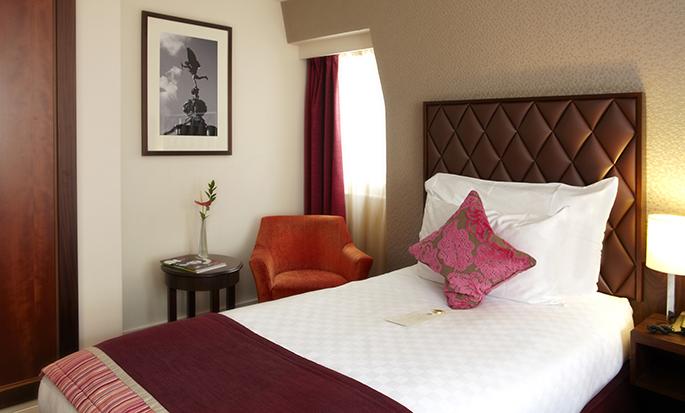 DoubleTree by Hilton Hotel London – Marble Arch, Storbritannien – Enkelt gästrum