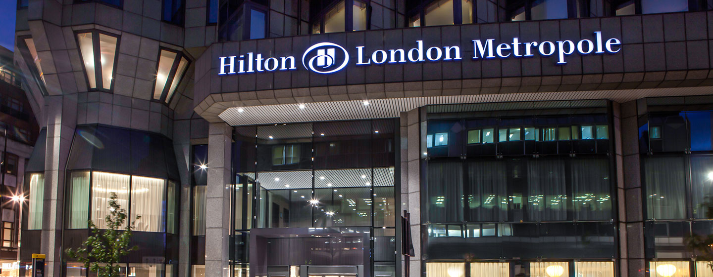 Hotel Hilton London Metropole, Regno Unito - Esterno dell'Hotel