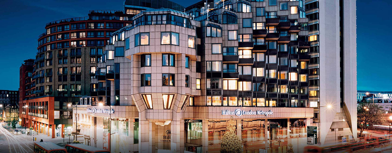 Hôtel Hilton London Metropole, Londres - Extérieur