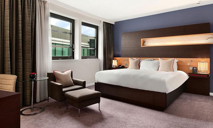 Hotel Hilton London Tower Bridge, Regno Unito - Soggiorno della Suite