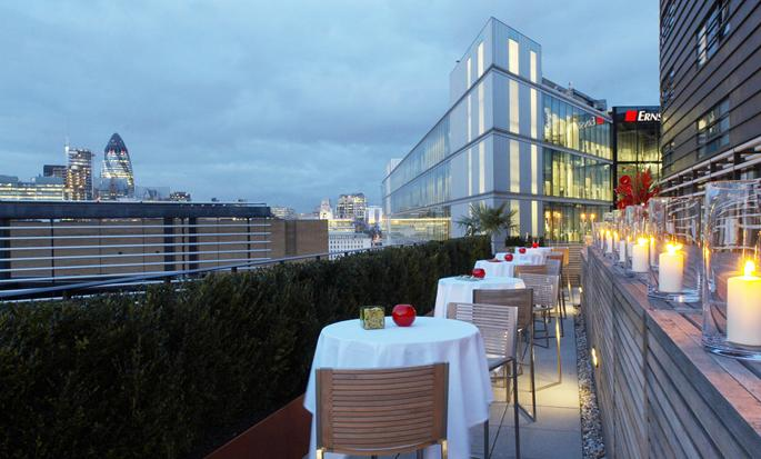 Hilton London Tower Bridge hotel, Verenigd Koninkrijk - Terras City