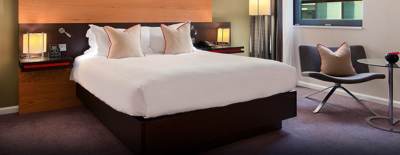 Die Deluxe Zimmer sind mit bequemen Betten ausgestattet