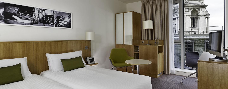 DoubleTree by Hilton Hotel London - Tower of London, Regno Unito - Camera Deluxe con letti separati