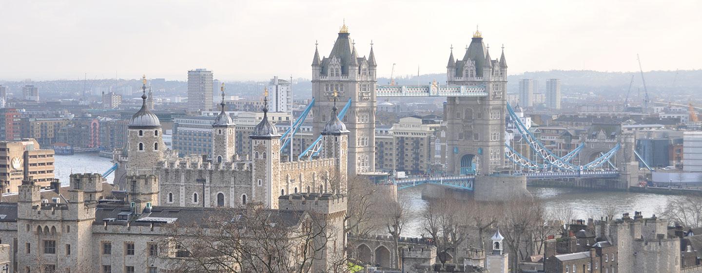 DoubleTree by Hilton Hotel London - Tower of London, Regno Unito - Viste dallo Sky Lounge