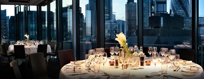 Hôtel DoubleTree by Hilton Tower of London, Londres -  Salle de réception Suite Northview
