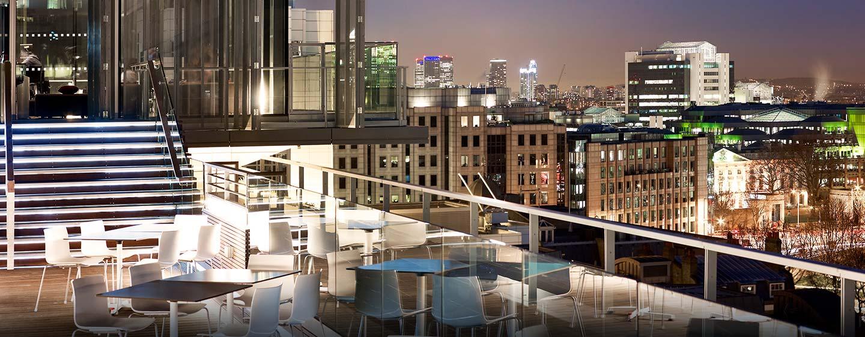 Hôtel DoubleTree by Hilton Tower of London, Londres - Terrasse du bar Skylounge