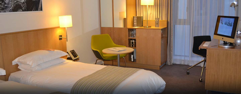 Hôtel DoubleTree by Hilton Tower of London, Londres - Chambre avec lits jumeaux