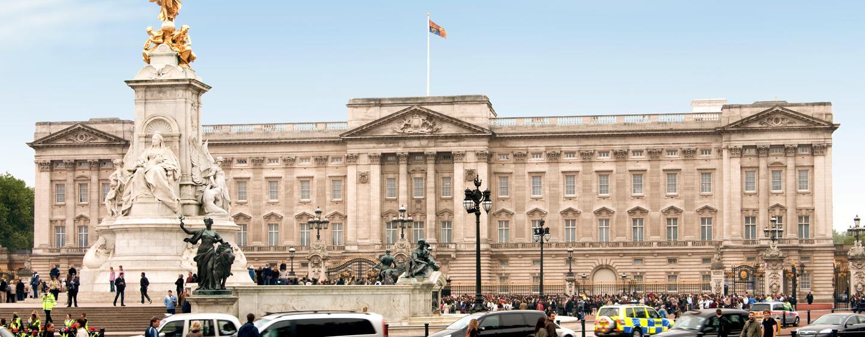Sehenswürdigkeiten wie der Buckingham Palace sind in Gehnähe