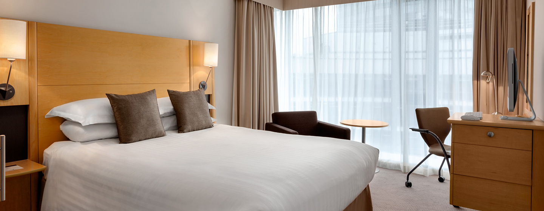 DoubleTree by Hilton Hotel London - Westminster, Regno Unito - Camera con letto queen size