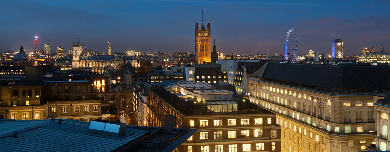 DoubleTree by Hilton Hotel London - Westminster, Regno Unito - Vista dallo Sky Lounge