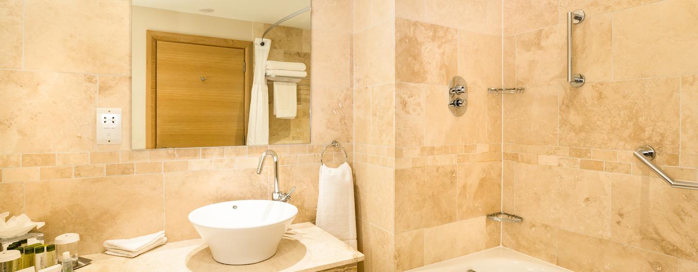 Barrierefreie Dusche Vorhang : Das hervorragend ausgestattete Fitness Center des Doubletree by Hilton