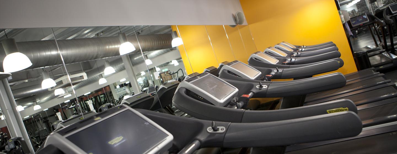 Im kostenfreien Fitness Center können Sie auch auf Reise Ihrem Training nachgehen
