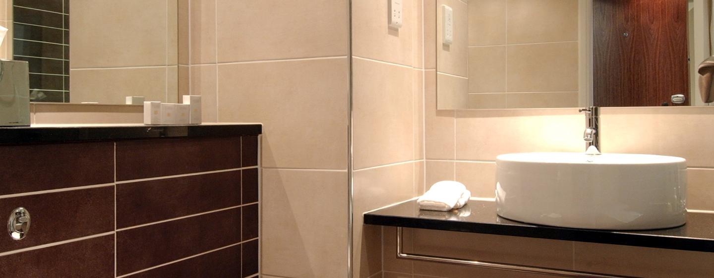 Die modernen Badezimmer in den Gästezimmern laden zum wohlfühlen ein