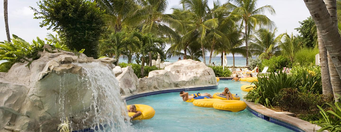 Hilton Rose Hall Resort & Spa, Jamaica - Piscina de correnteza