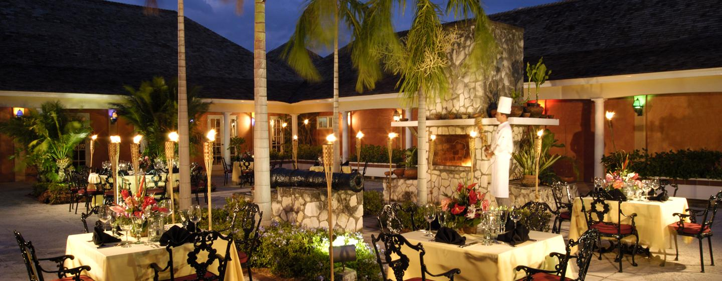 Hilton Rose Hall Resort & Spa, Jamaica - Restaurante all inclusive