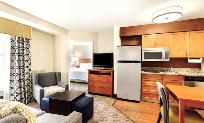 Homewood Suites do Hilton Orlando-International Drive/Centro de Convenções, Orlando, Flórida - Cozinha da suíte