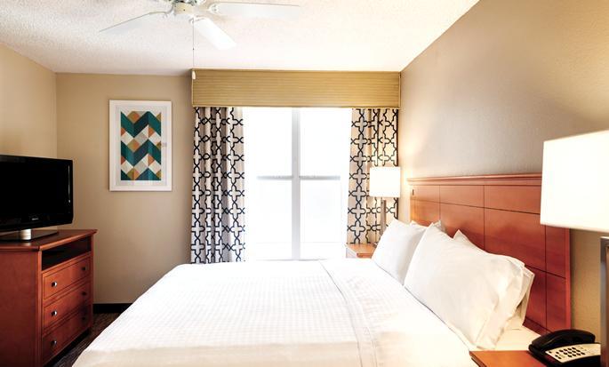 Homewood Suites do Hilton Orlando-International Drive/Centro de Convenções, Orlando, Flórida - Quarto King