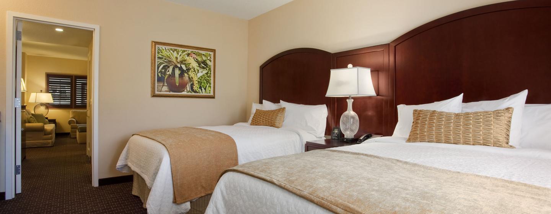Hotel Embassy Suites Orlando - Lake Buena Vista South, FL - Suite con dos camas Queen