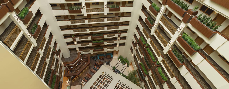 Hotel Embassy Suites Orlando - Lake Buena Vista South, FL - Atrio del hotel