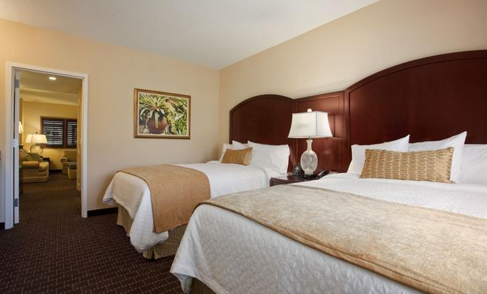 Hotel Embassy Suites Orlando – Lake Buena Vista South, FL - Suite con dos camas