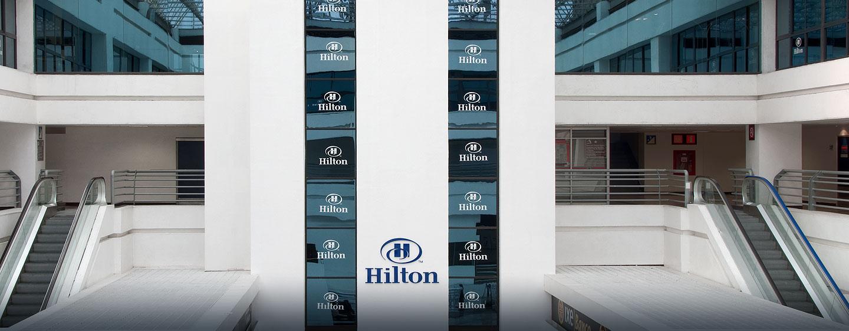 Hotel Hilton Mexico City Airport, Distrito Federal, México - Entrada desde el aeropuerto