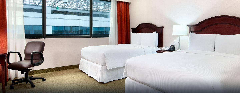Hotel Hilton Mexico City Airport, Distrito Federal, México - Habitación doble con cama ejecutiva