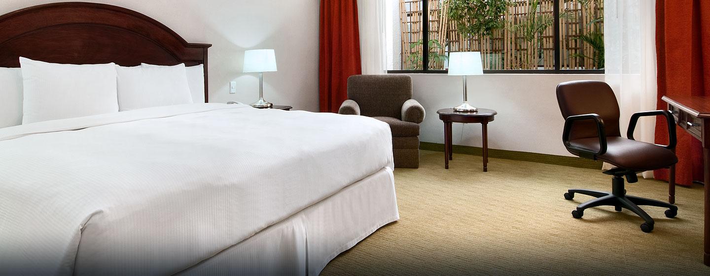 Hotel Hilton Mexico City Airport, Distrito Federal, México - Habitación ejecutiva con cama King