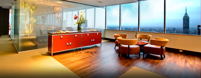 Hotel Hilton Mexico City Reforma, Distrito Federal, México - Sala de estar ejecutiva