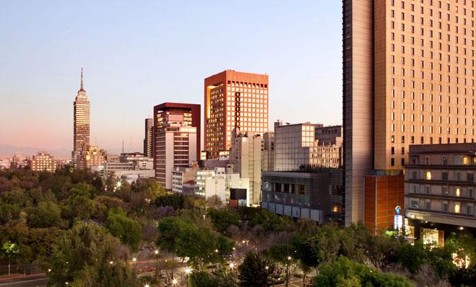 Hilton Mexico City Reforma, México - Fachada del hotel
