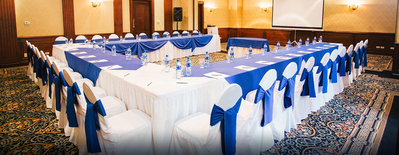 Hilton Princess Managua Hotel, Nicaragua - Sala de juntas con mesa en U