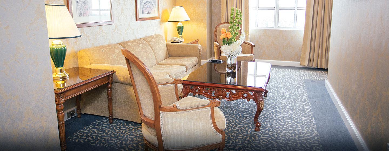 Hilton Princess Managua Hotel, Nicaragua - Sala de estar de la suite