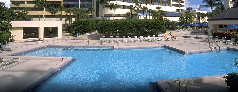 Hotel Hilton Miami Airport, Florida - Piscina al aire libre